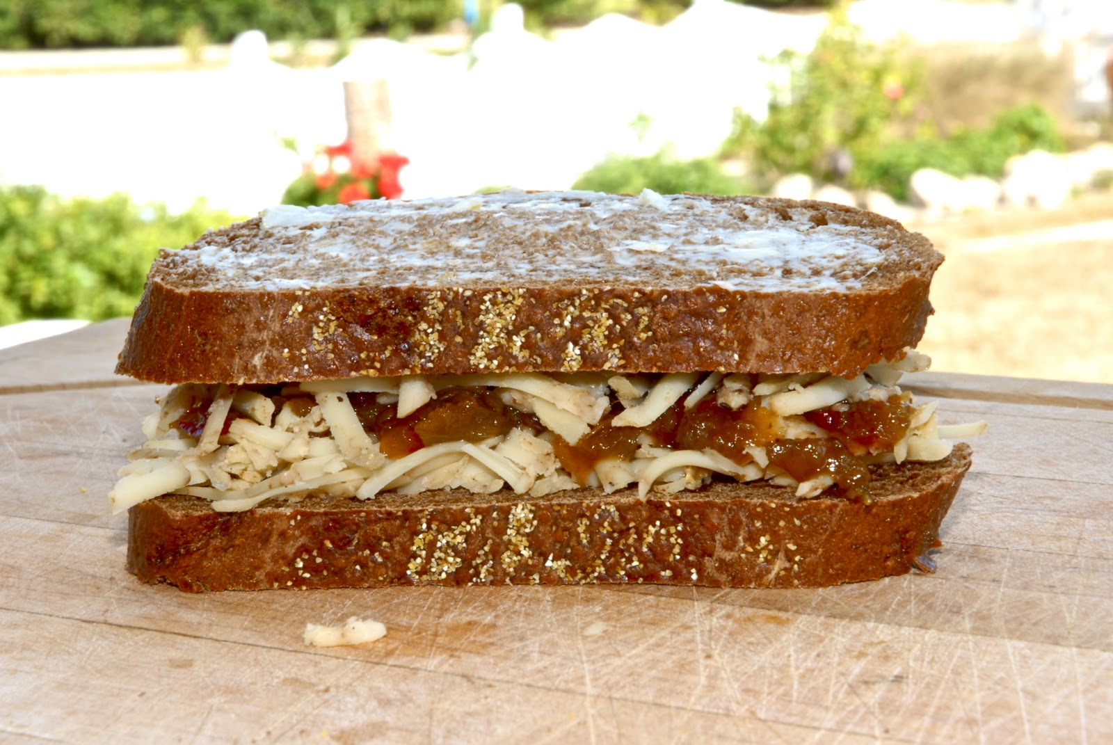 Braata Braata - Beechers No Woman Grilled Cheese with ...
