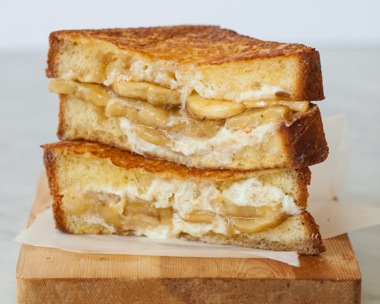 ... Grilled Cheese with cream cheese and mascarpone - Grilled Cheese