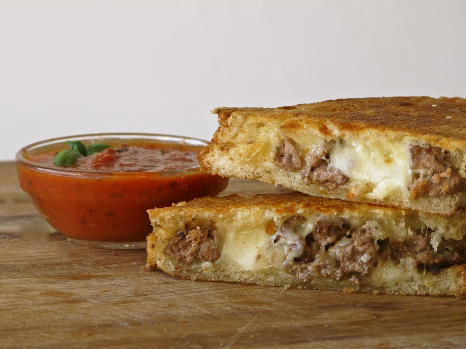 The Meatwad – Meatball Grilled Cheese with Rosemary and Olive Oil ...