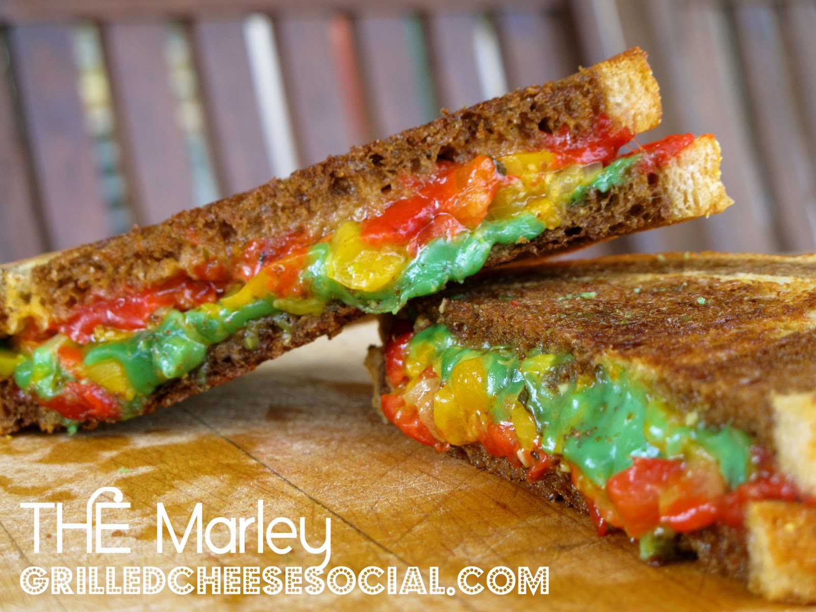 ... Pesto Gouda and Sun Dried Tomato Gouda Grilled Cheese - Grilled Cheese