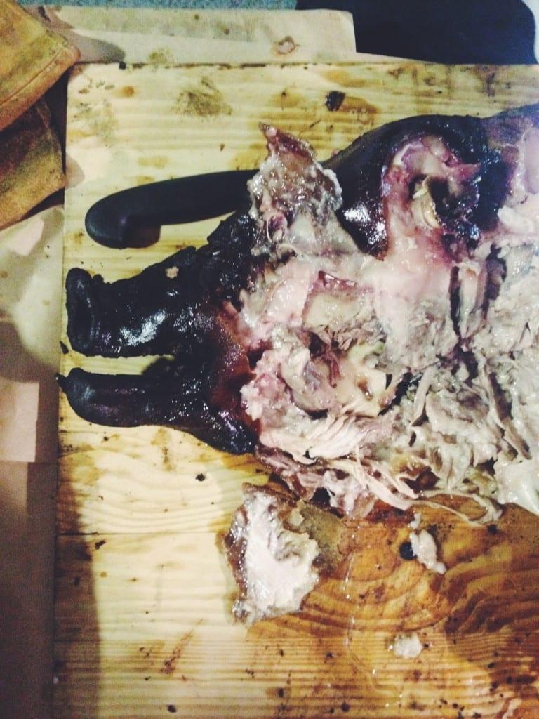Eat Cheek meat