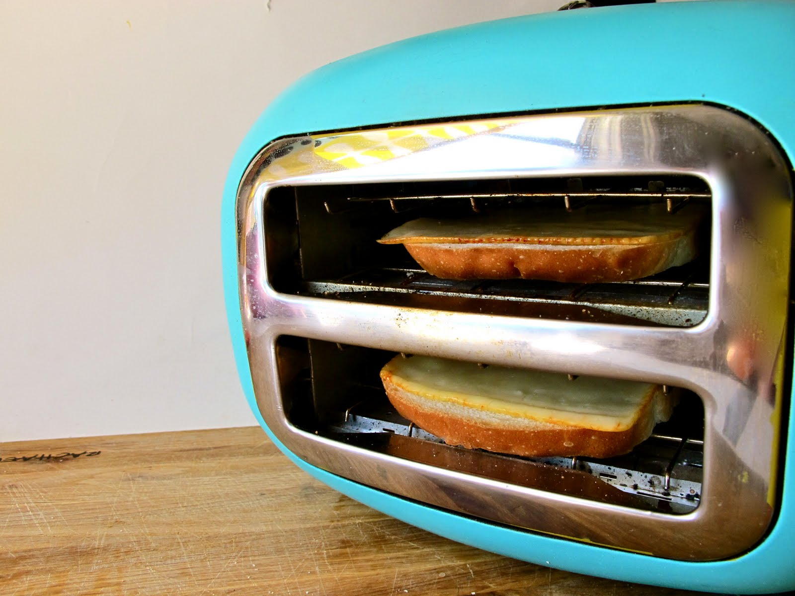 """I Let Mine Toast For About Two And A Half Minutes On The €�low"""" Setting And  Because Of My Toaster's Hot Spot, I Made Sure To Rotate My Bread Half Way"""