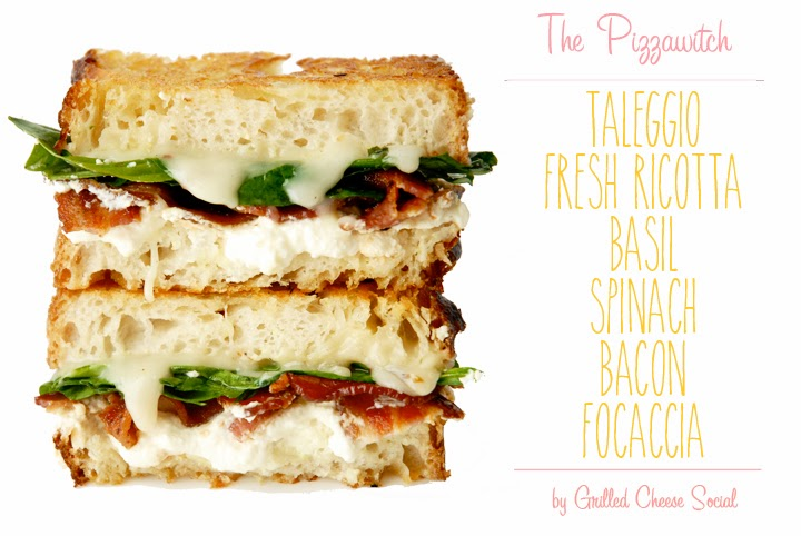 The Pizzawitch - White Pizza Grilled Cheese With Taleggio ...