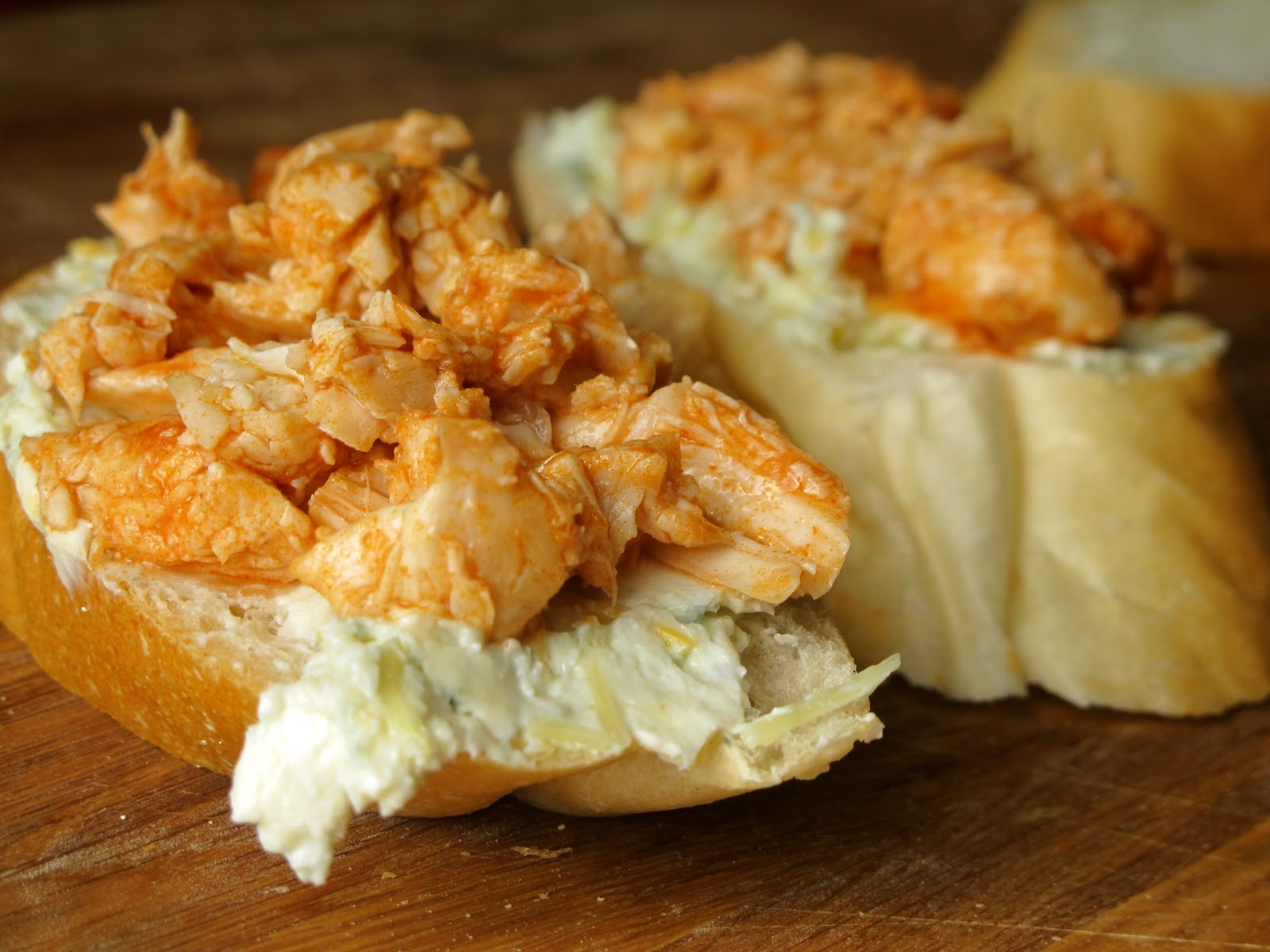 Blue Buffalo Buffalo Chicken Grilled Cheese With Franks Hot Sauce