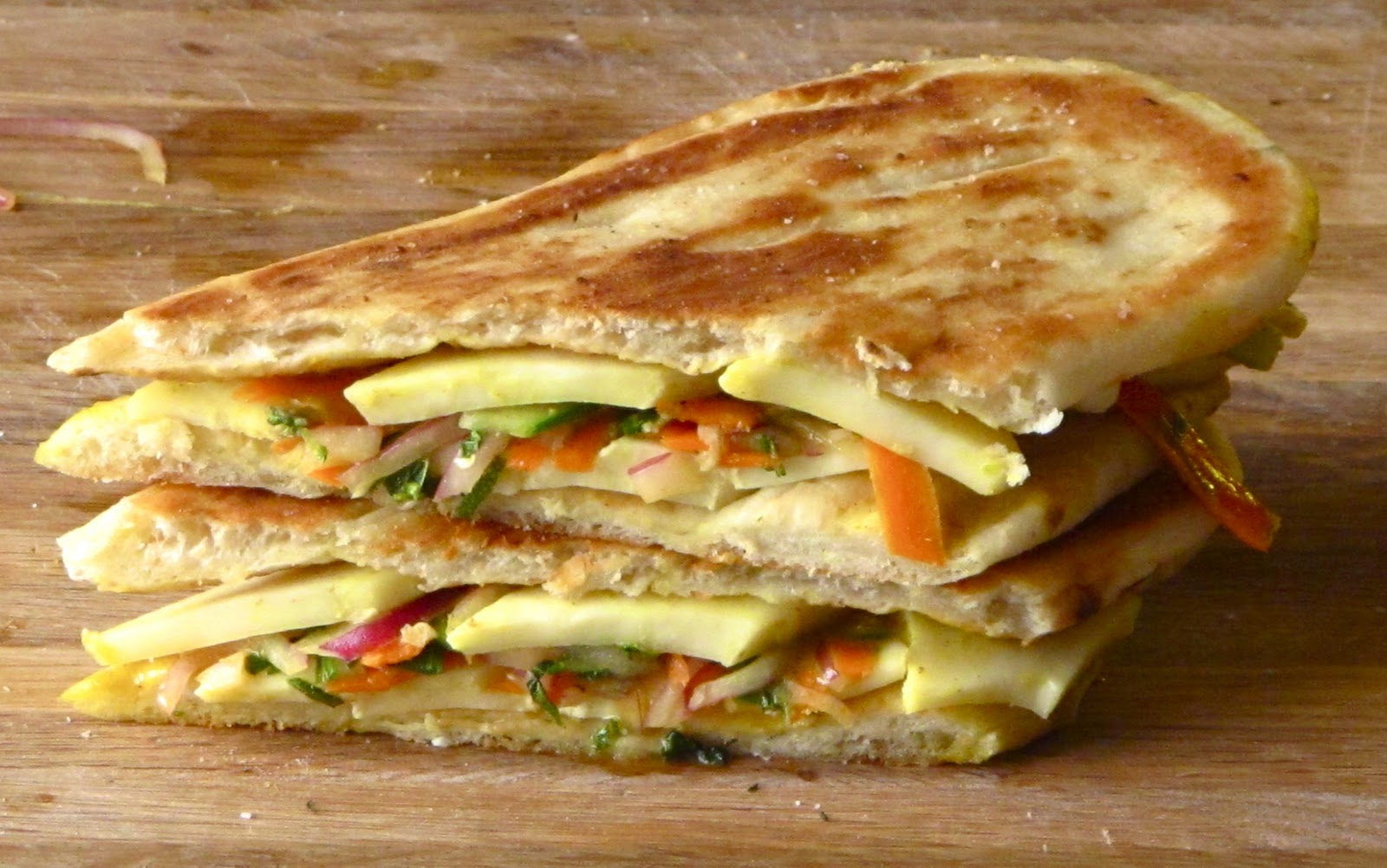 Cheez on indian indian grilled cheese with curried for Artisan indian cuisine