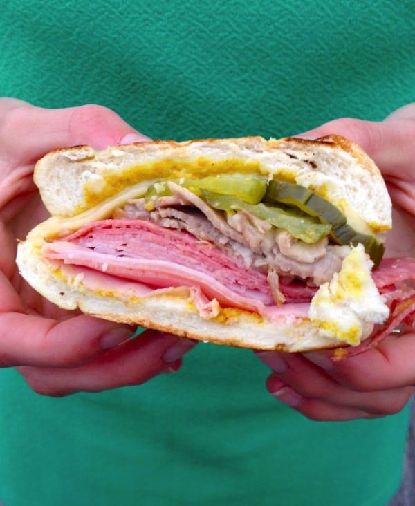 Classic Ybor-style Cuban Sandwich