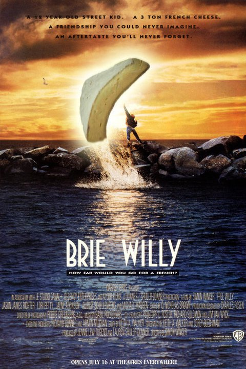 food puns cheese puns movies brie willy