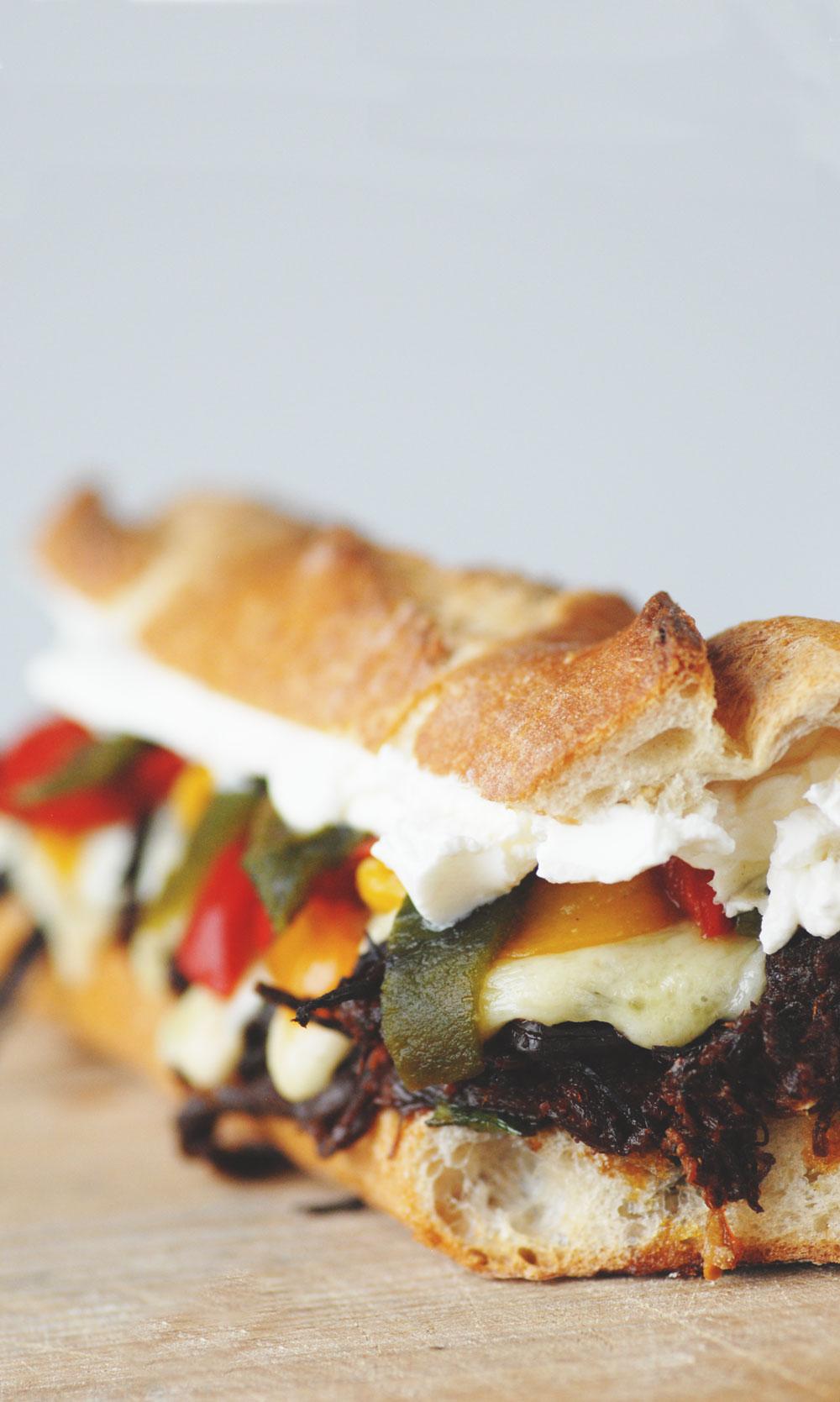 Fajita Sandwich Brisket