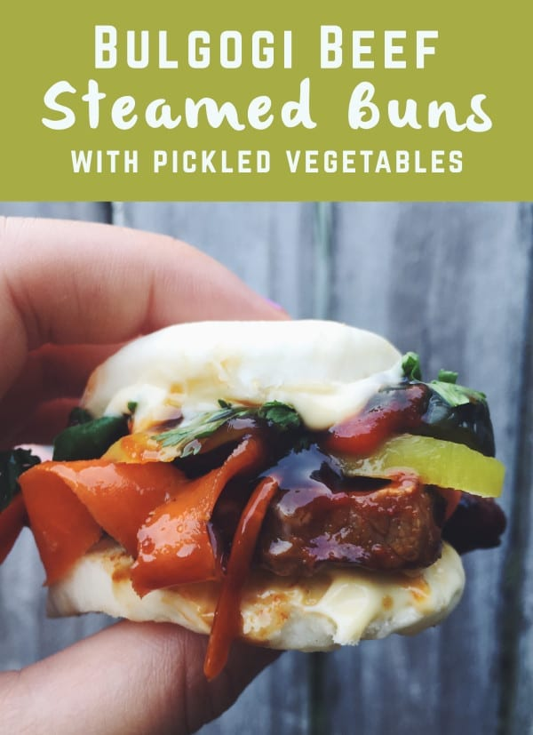 bulgogi steamed bao fillings