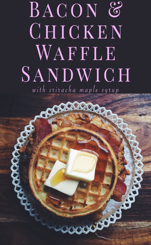 chicken waffle sandwich grilled cheese social