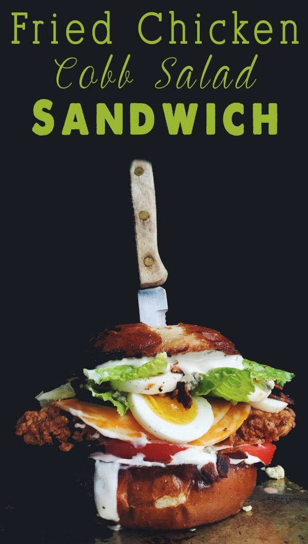 fried chicken cobb salad sandwich grilled cheese social