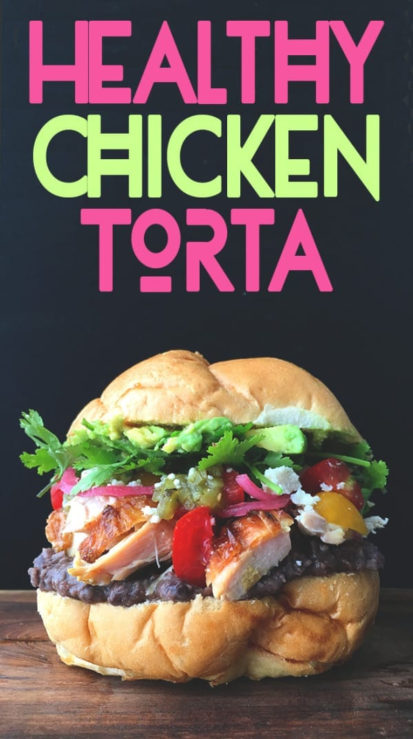 chicken torta grilled cheese social