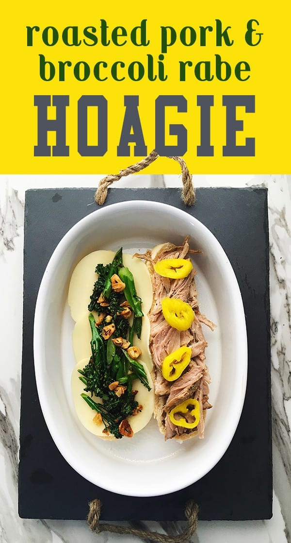 roasted pork broccoli rabe grilled cheese social
