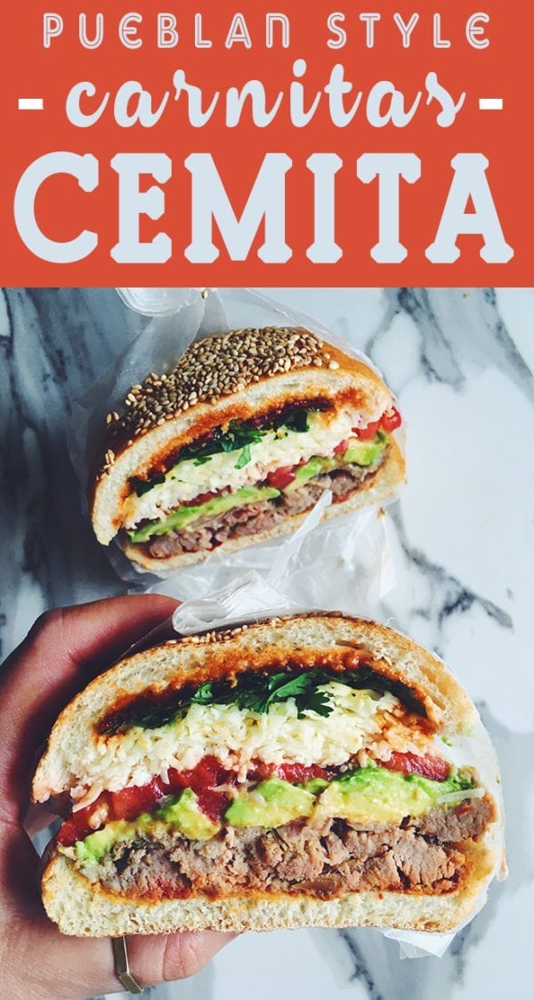 cemita sandwich recipe
