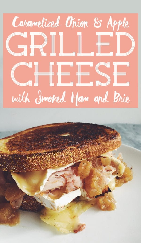 Caramelized Onion Apple Grilled Cheese Social