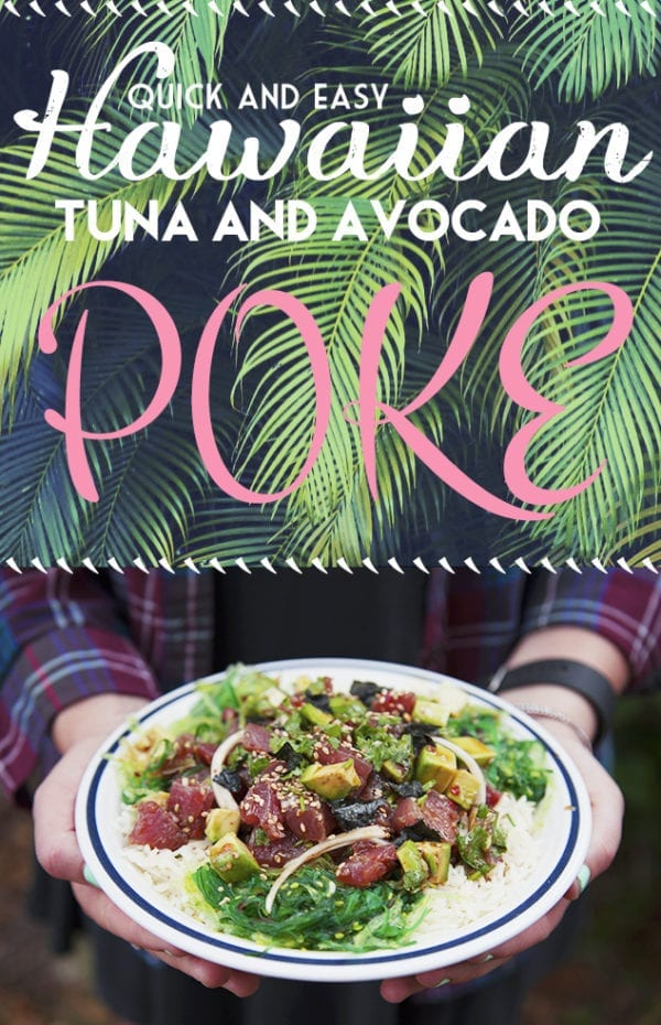 quick easy Hawaiian poke recipe