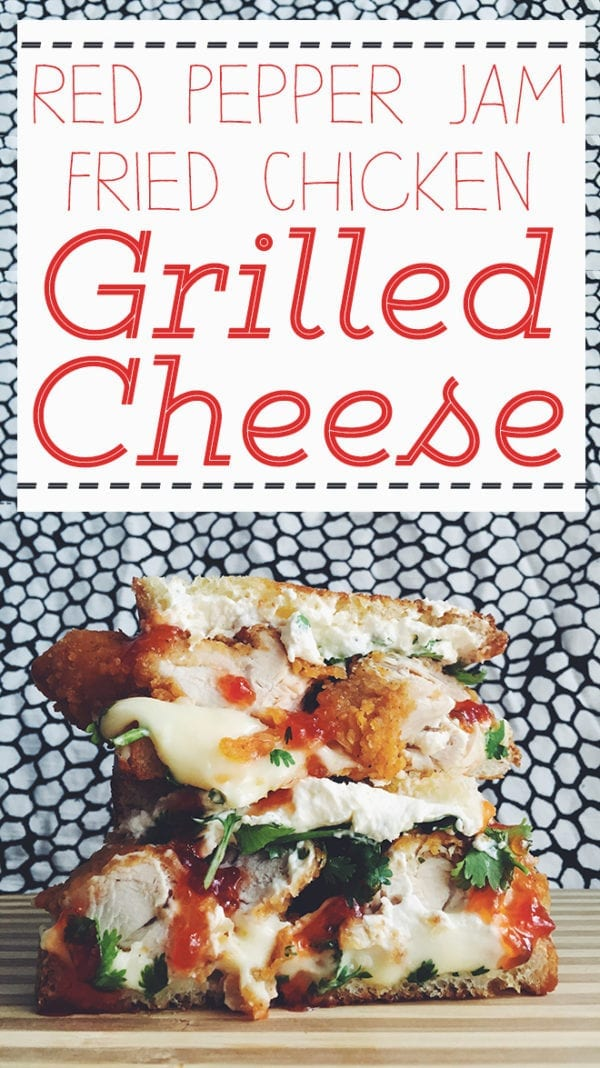 Red Pepper Jam Grilled Cheese Social