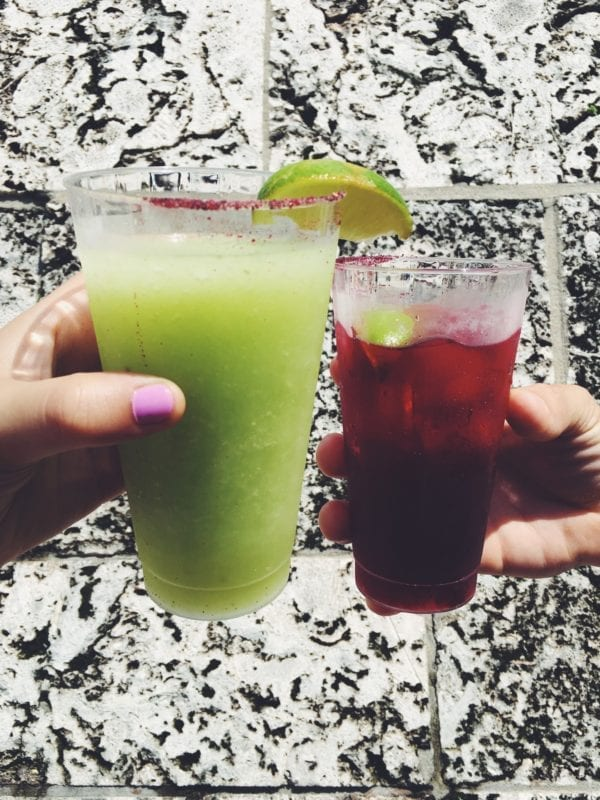Epcot's 2016 Food and Wine Festival Best Drink 2 Avocado Margarita