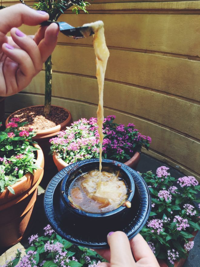 Epcot's 2016 Food and Wine Festival Best Cheese Dish 9 French Onion Soup
