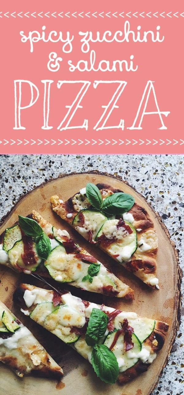 dar poeta spicy zucchini pizza