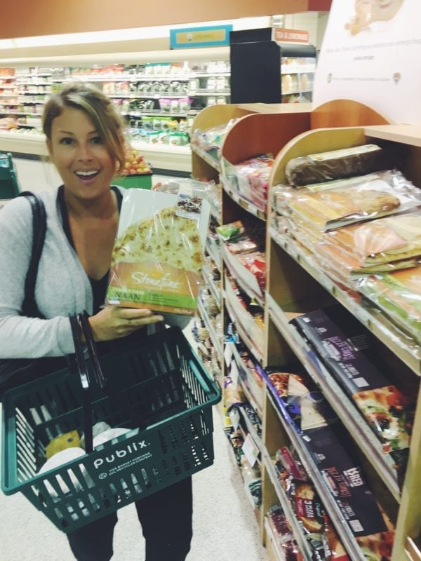 grilled cheese social blogger mackenzie smith at publix