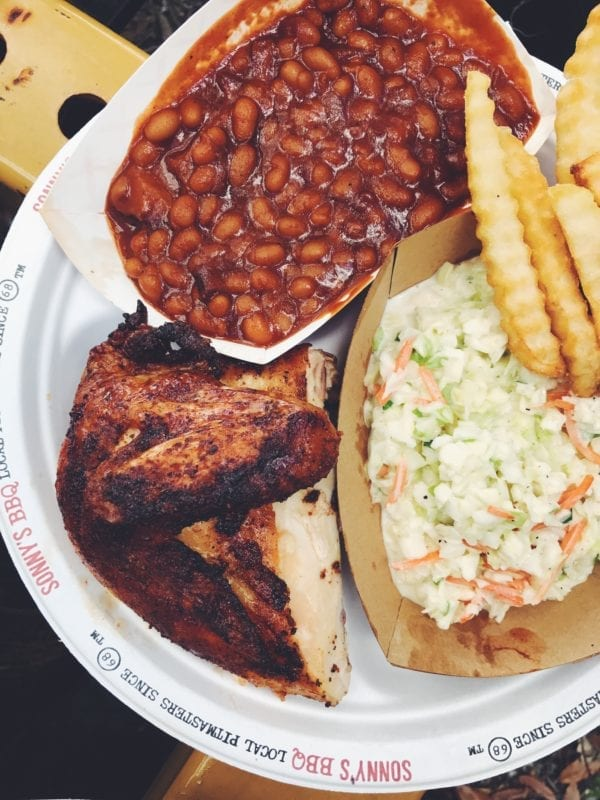 sonnys barbecue smoked chicken