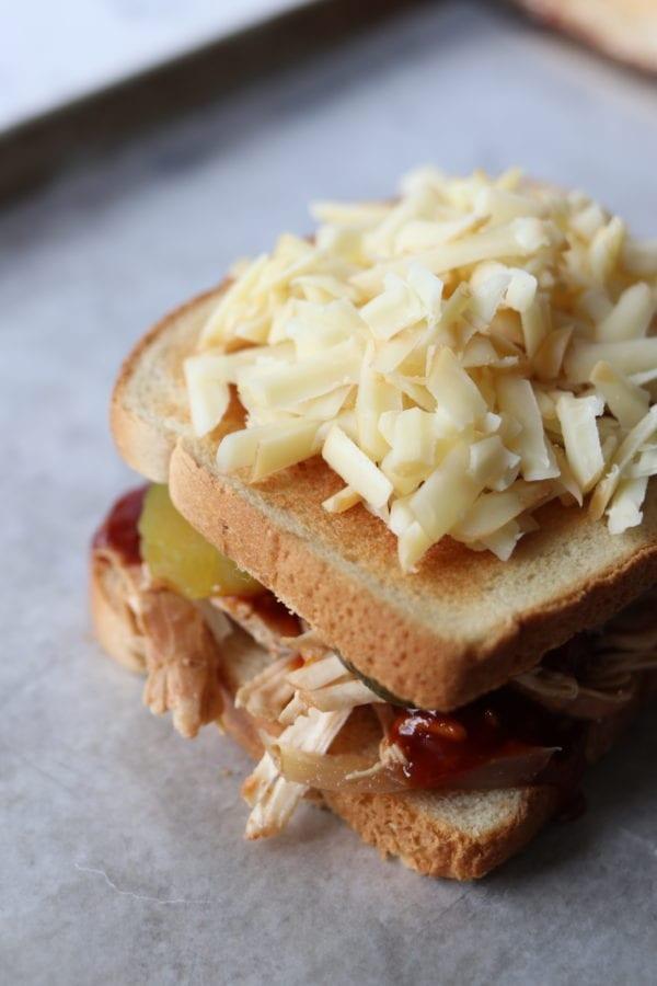 fig sriracha bbq sandwich cobblestone grilled cheese social