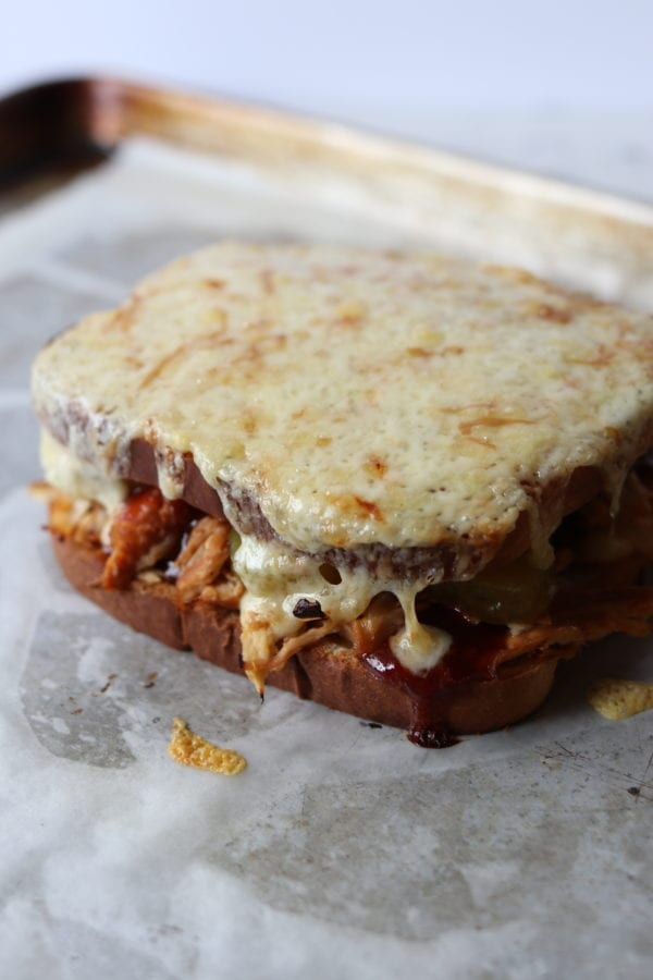 fig sriracha bbq sandwich cobblestone grilled cheese social