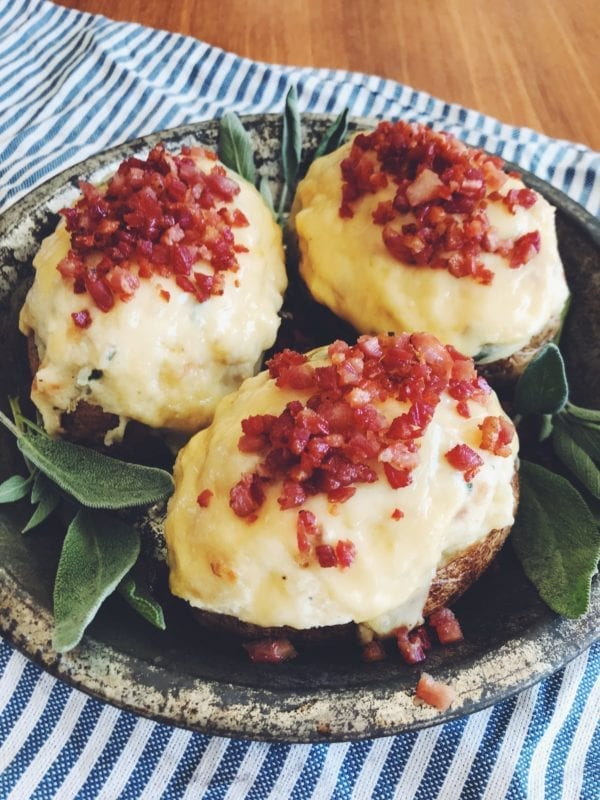 Twice Baked Stuffed Potatoes