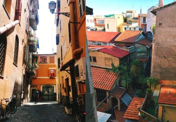 trastevere rome, foodie paradise