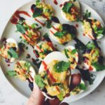 Pho-Inspired Vietnamese Deviled Eggs - The Perfect Father's Day Snack or Appetizer