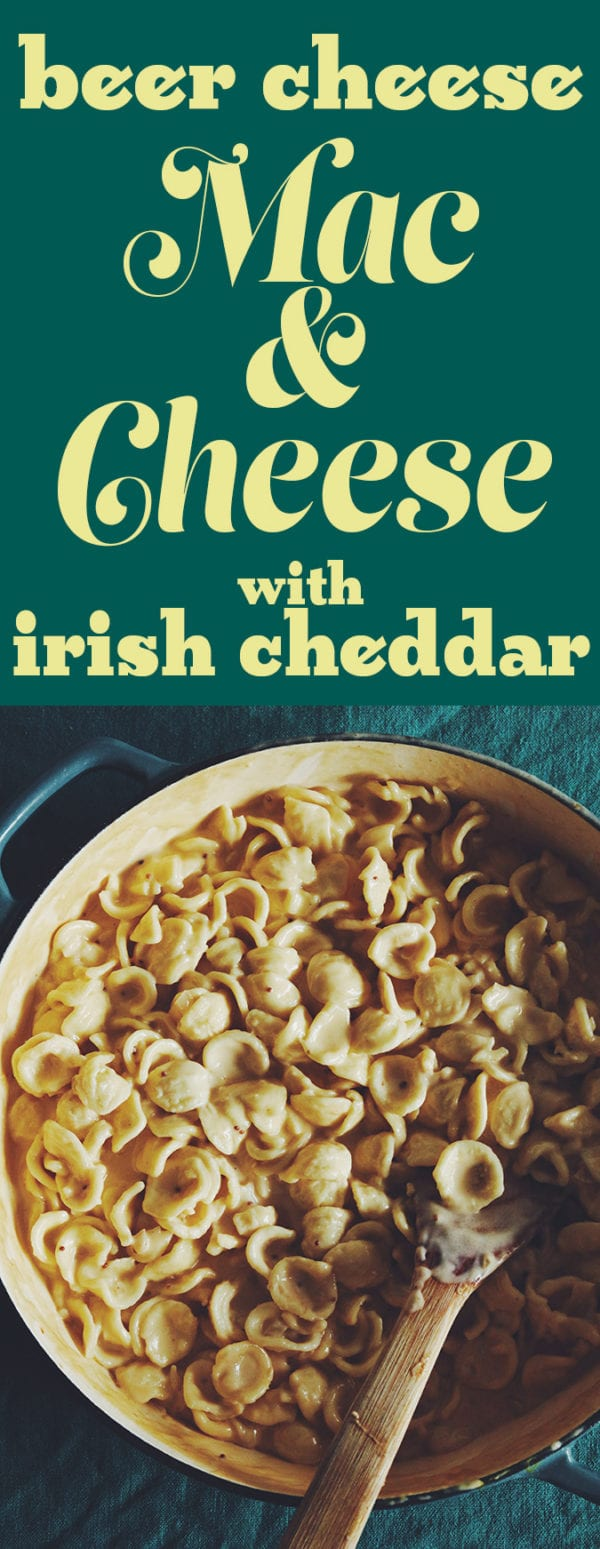 Beer Cheese Mac n Cheese