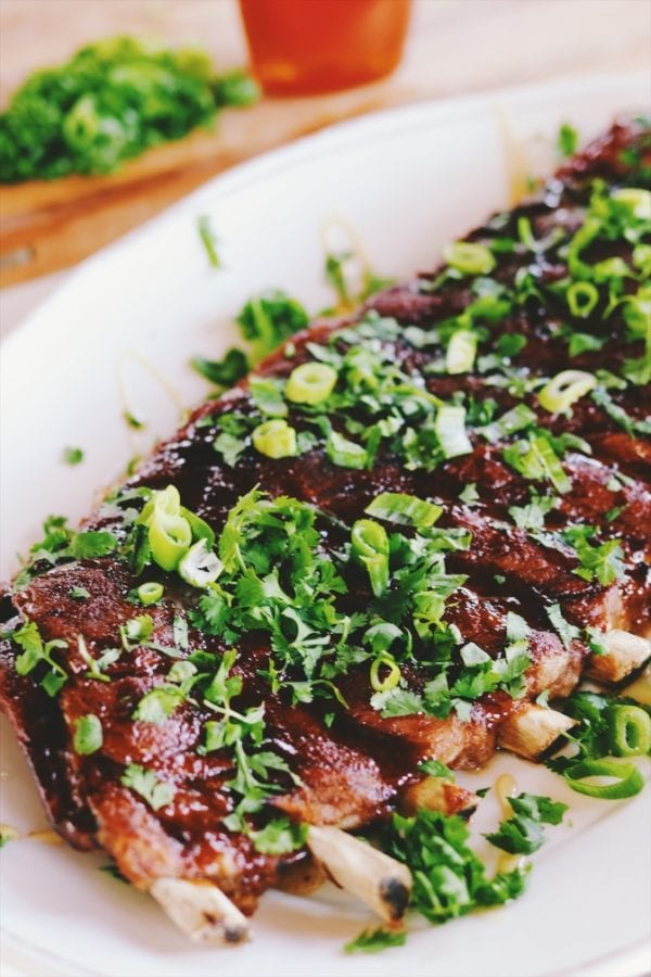 asian style ribs made in the instant pot
