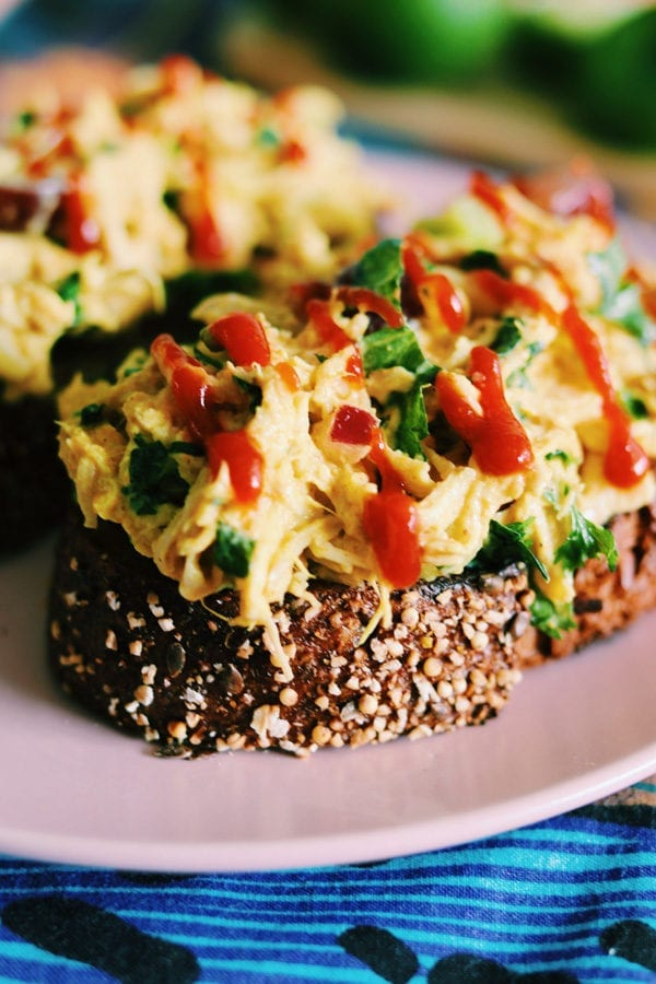 Ina Garten Inspired Curry Chicken Salad Grilled Cheese Social