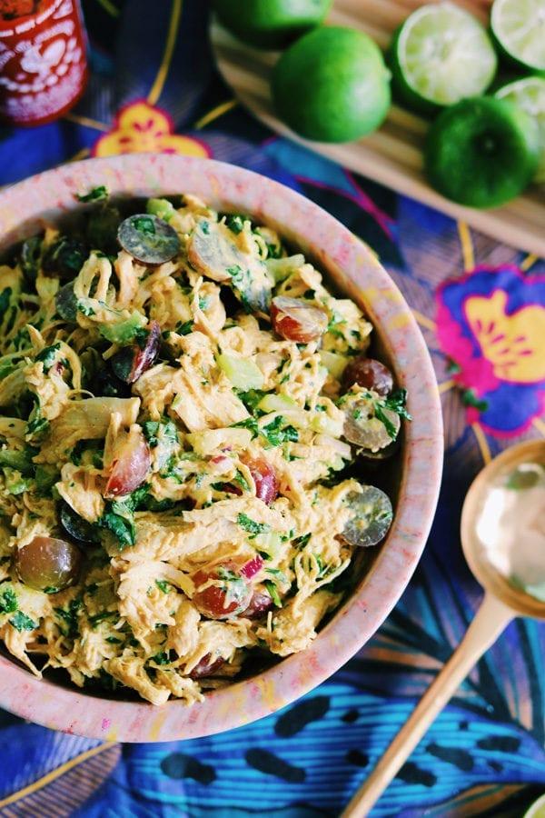 Ina Garten Inspired Curry Chicken Salad