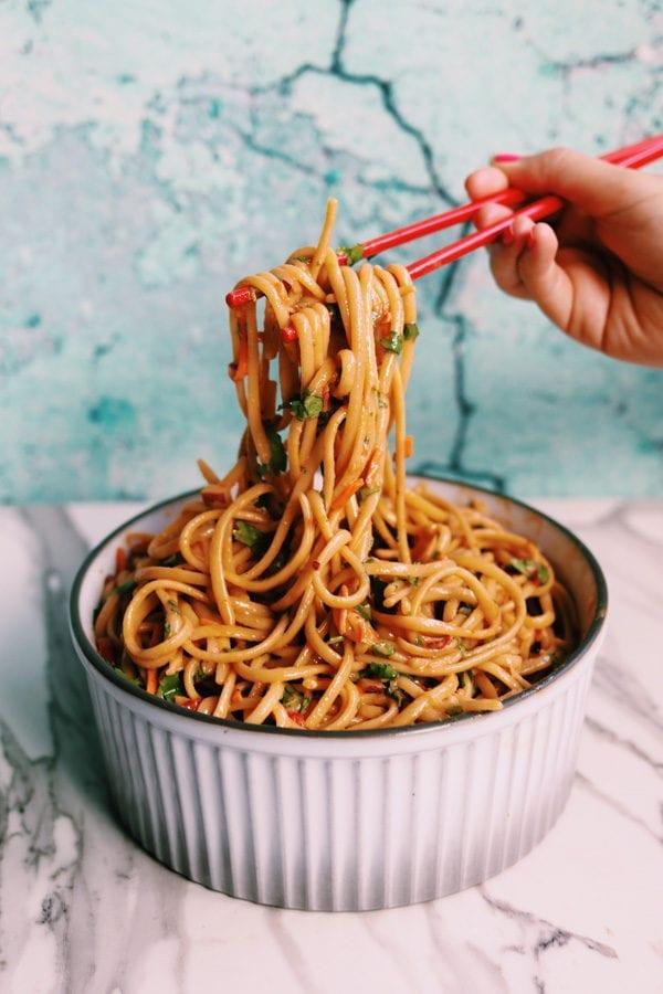 Thai Noodle Sald