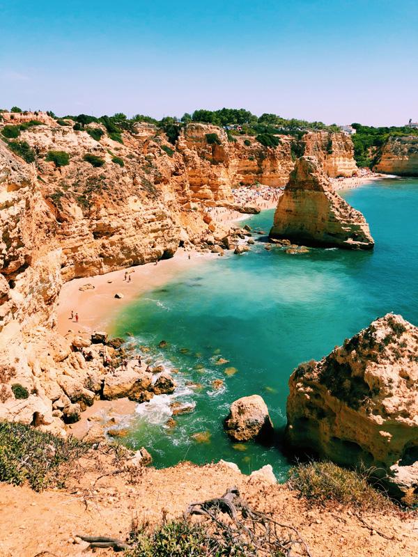 Beaches Lagos Portugal