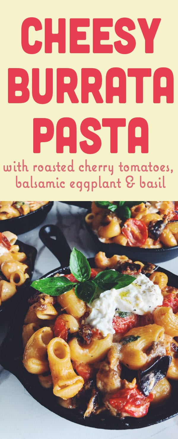 cheesy burrata pasta