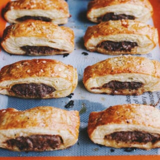 Easy English Sausage Rolls