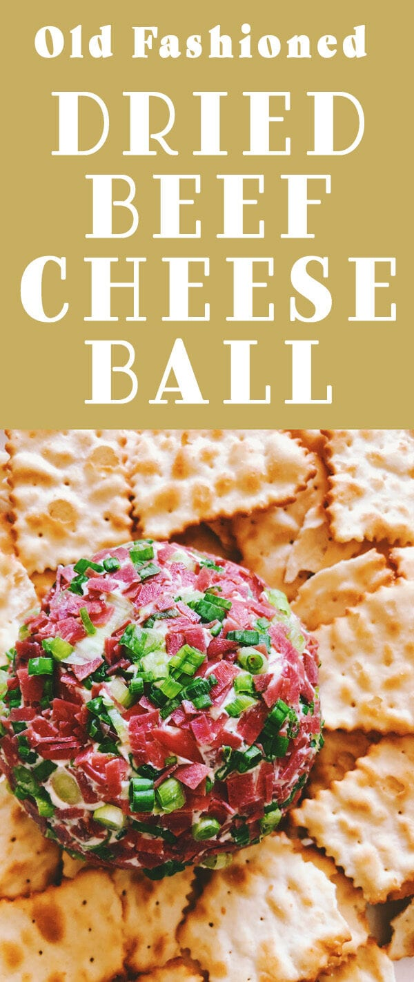 dried beef cheese ball