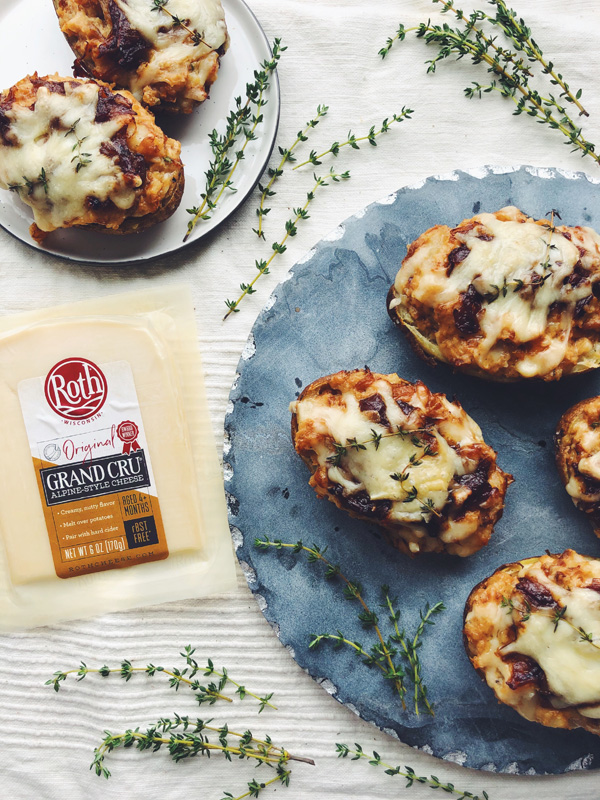 french onion twice baked potatoes