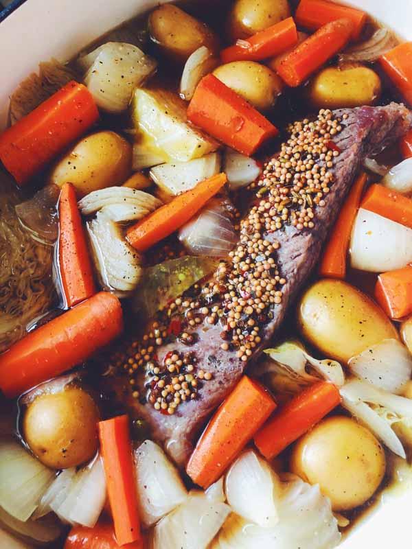 slow cooker salt beef