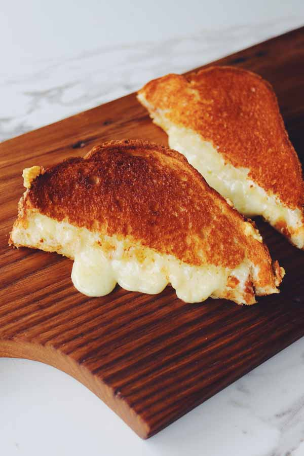 air fryer grilled cheese