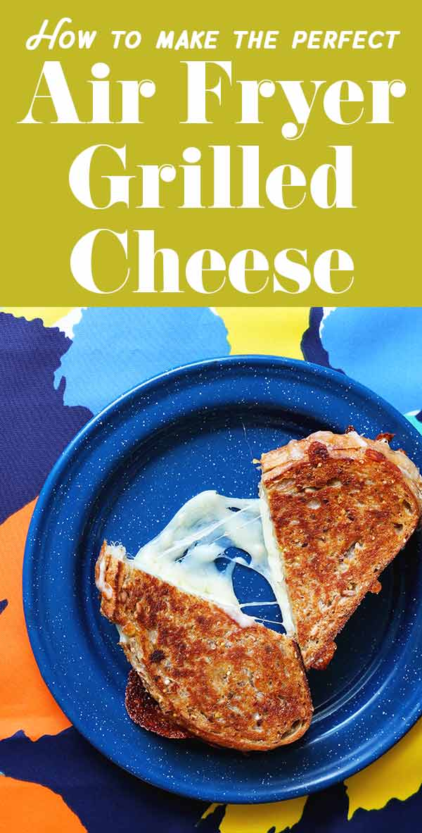 As a grilled cheese expert, I can assure you that making an air fryer grilled cheese just might be the perfect way to cook this classic comfort food. The bread gets crispy, the cheese gets perfect melty, and it's almost impossible to burn it. I highly recommend using this method because it's essentially fail-proof!
