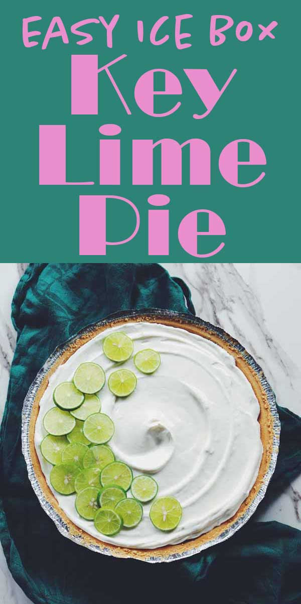 This easy no bake key lime pie recipe is a family favorite! All you need is cool whip, sweetened condensed milk, a couple of limes, and a pie crust and you're good to go. It's one of those perfect, no-fail, dessert recipes that you'll keep for years to come!