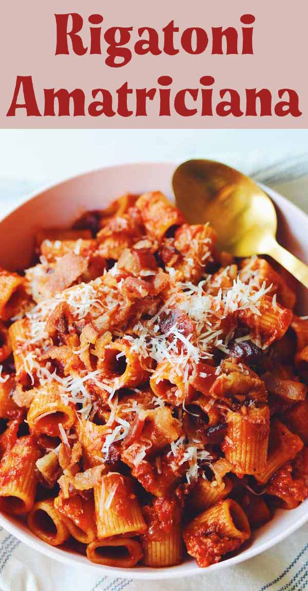 Rigatoni All Amatriciana