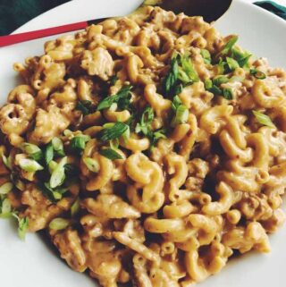 homemade hamburger helper with turkey