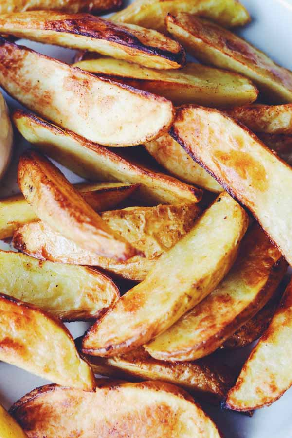 air fryer potato wedges