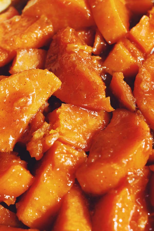 old-fashioned candied sweet potatoes