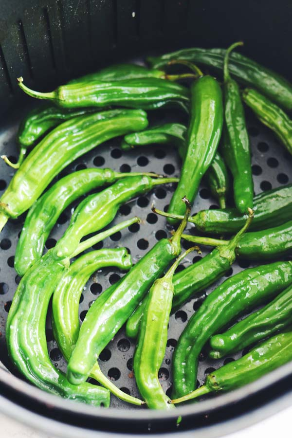 air fryer shishito peppers